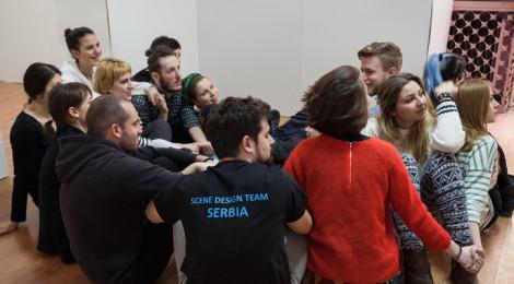 Razgovori o scenskom dizajnu - Studentska sekcija Srbije na Praškom kvadrijenalu 2015.