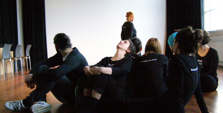 """RADIONICA """"Prostori igre: telo i prostor u interakciji"""""""